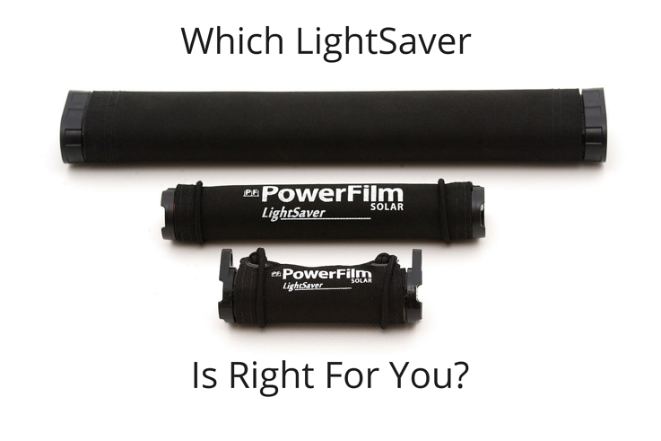 Which LightSaver Is Right For You?