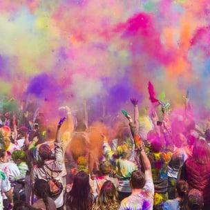 celebrate holi (the festival of colours) - photo by john thomas via unsplash