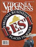 Inside Business - Best Places to Work in Virginia 2014