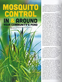 Community Associations Institute - Mosquito Control In and Around Your Community's Pond