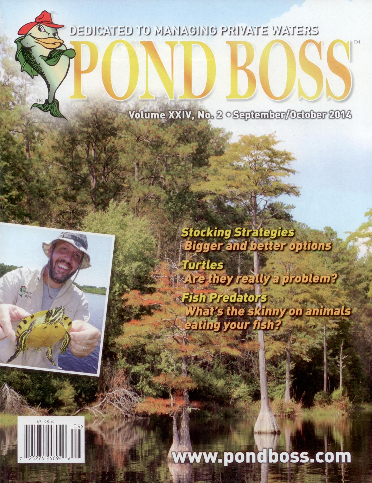 Pond Boss Magazine - Managing Multiple Ponds to Create the Ultimate Fishery