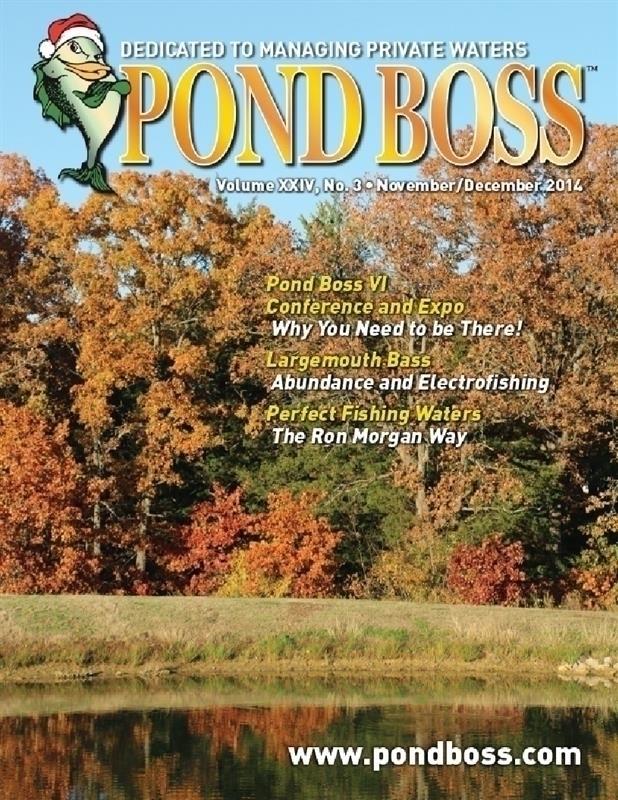 Pond Boss Magazine - Vegetation Control Using Triploid Grass Carp in Ponds