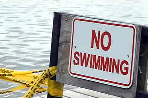 No-swimming