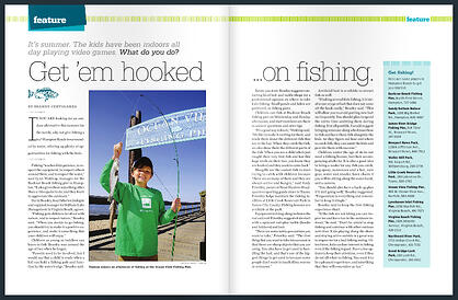 TP Kids fishing Dave Beasley