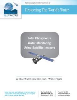 total phosphorus water monitoring using satellite imagery pdf