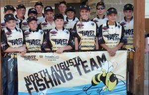 North Augusta Border Bass Invitational Fishing Team