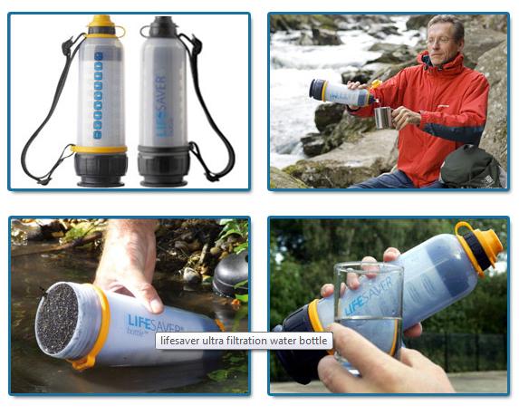 Lifesaver 4000 and 6000 Bottles