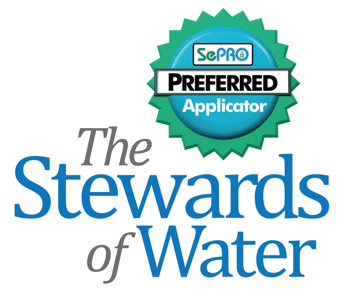 SePRO Stewards of Water logo