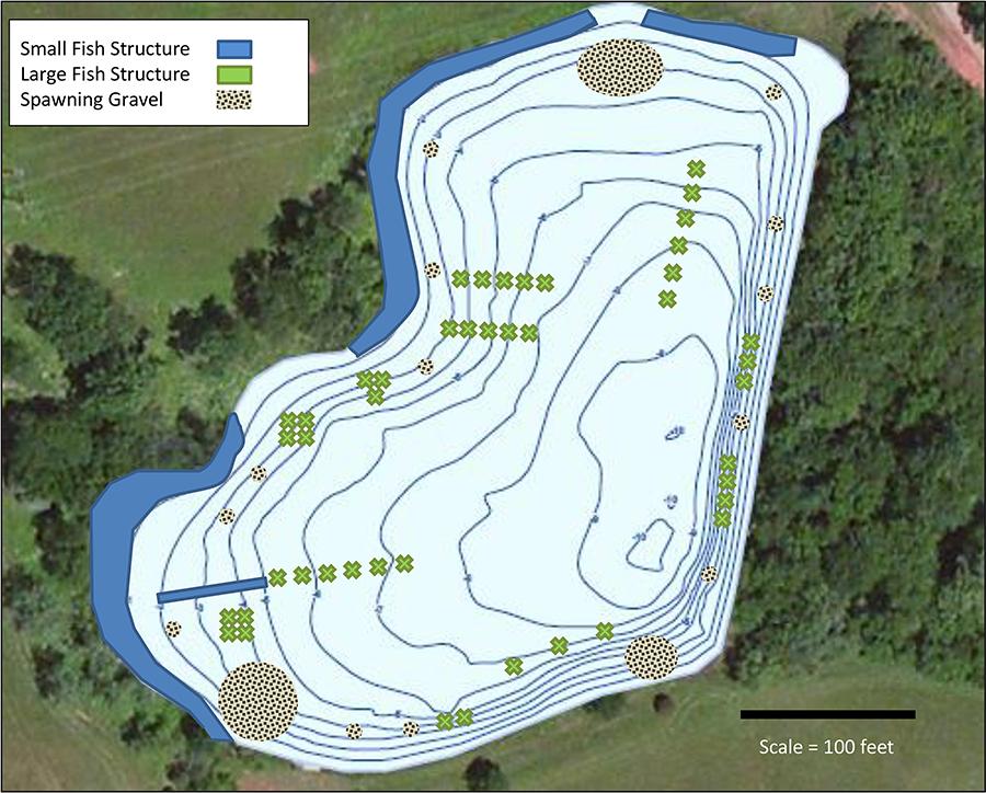 Trophy Fisheries Management Fish Habitat Management Merrifields Holly Fork