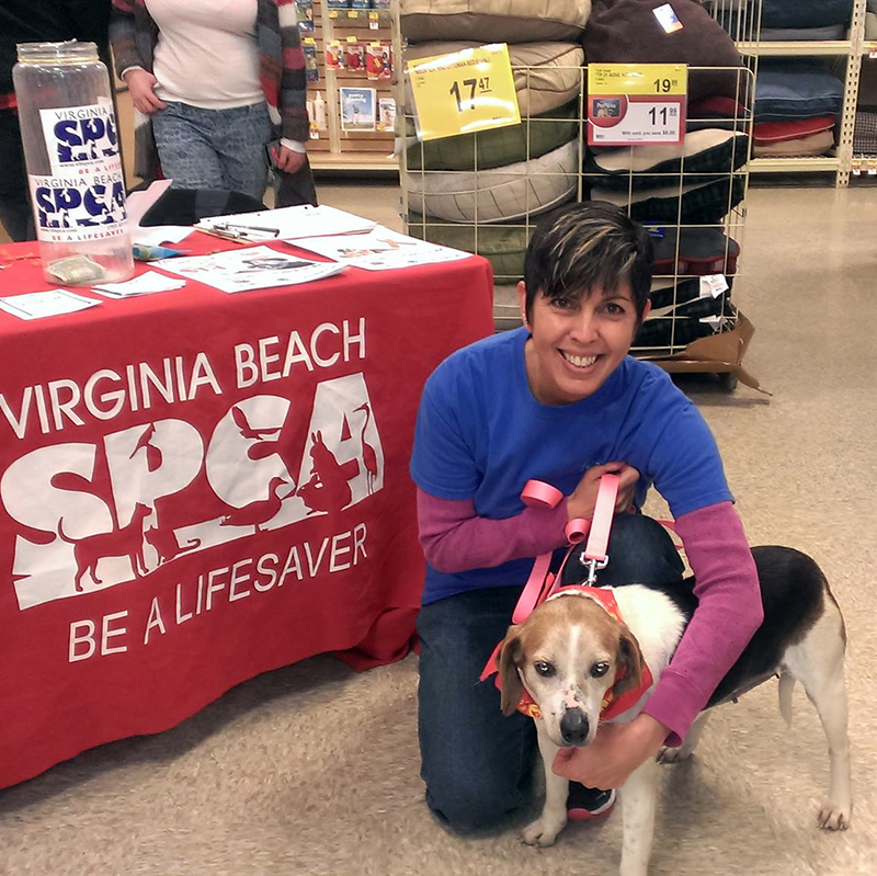 VA Beach SPCA Adoption Event_Trina