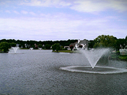 multiple fountains