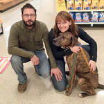 Petsmart Adoptions - Shannon, Ian and Amos