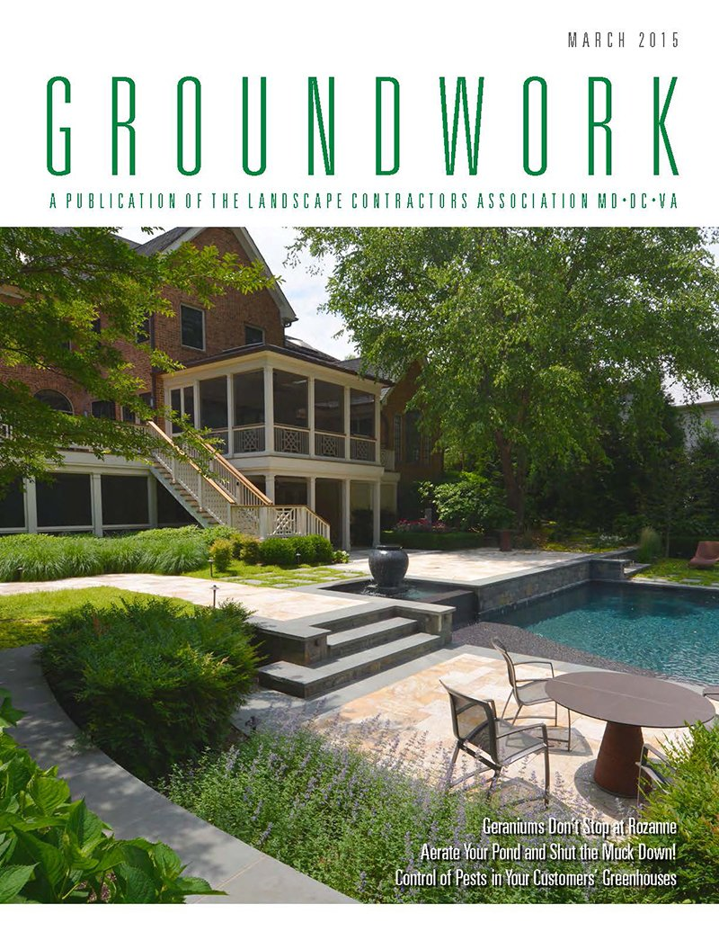 Groundwork Magazine_Aerate Your Pond and Shut the Muck Down