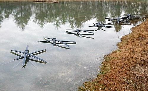 Fish habitat water filling up lake design 1