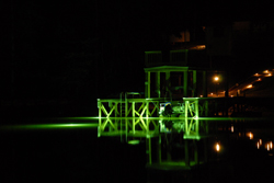 Pond lights green monster underwater fishing lights for for Green monster fishing light