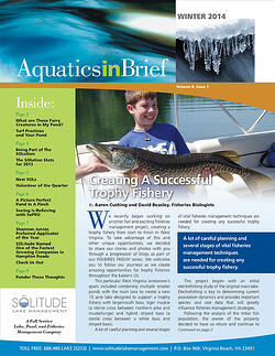 29_SOLitude_lake_management_AquaticsInBrief_newsletter_01.2014_Winter_cover