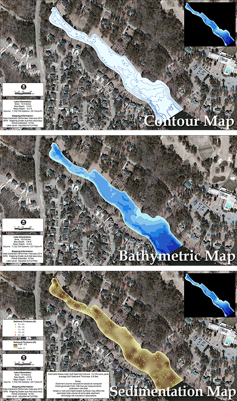 3D_lake_mapping_contour_bathymetric_sedimentation_maps