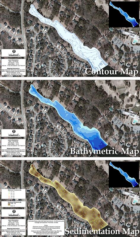 3D_lake_mapping_contour_bathymetric_sedimentation_maps
