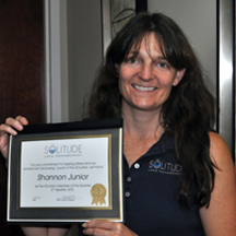 Shannon Junior Volunteer of the Quarter