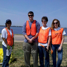 Clean the Bay Day with the Chesapeake Bay Foundation