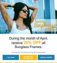 Spring Sunglasses Sale