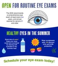 Vision Summer Tips