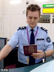passport control officer