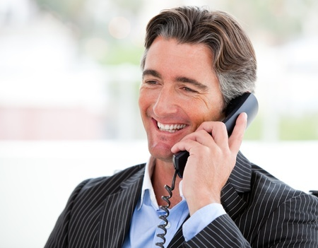 salesperson on the phone