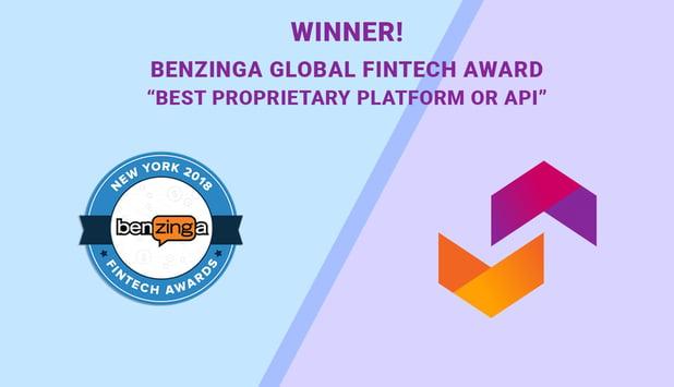 ipushpull win Benzinga Global Fintech Award 2018