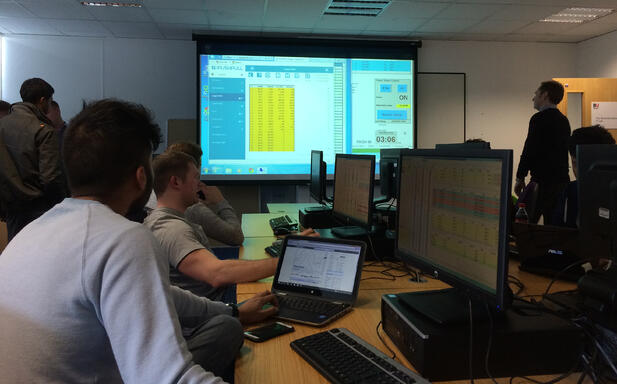 Nail-biting climax to the Bournemouth University Trading Competition