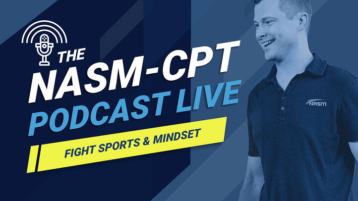 fight sports episode banner for NASM CPT podcast