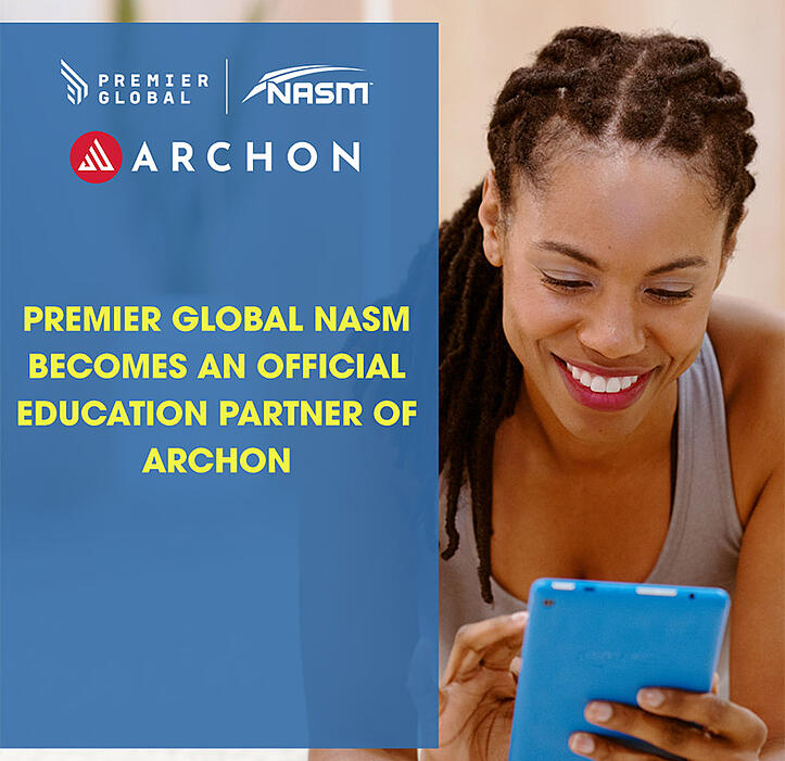Premier Global NASM Teams Up With Archon To Offer Learners Free Access to World Leading Archon Fitness Profiling Software