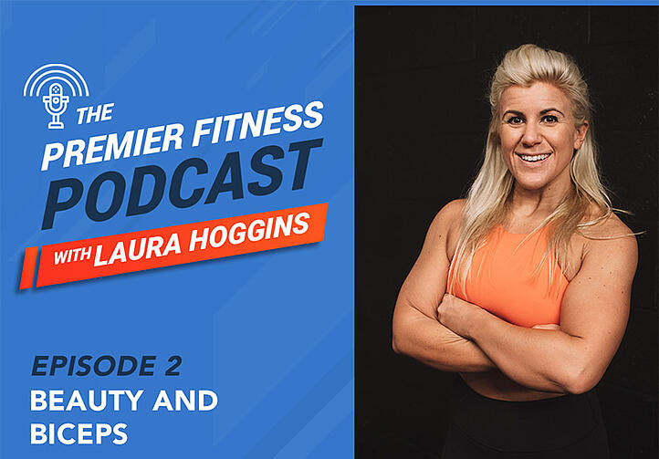 Premier Fitness Podcast - Beauty and Biceps - Laura Hoggins