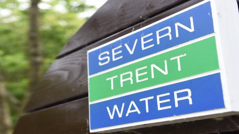Severn Trent Water sign