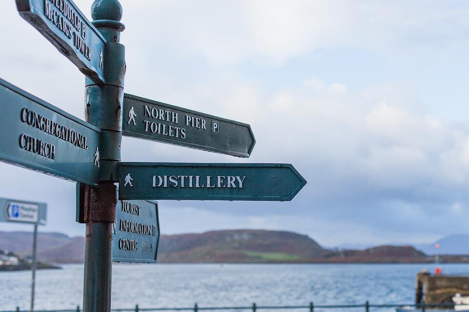 Directions to distillery