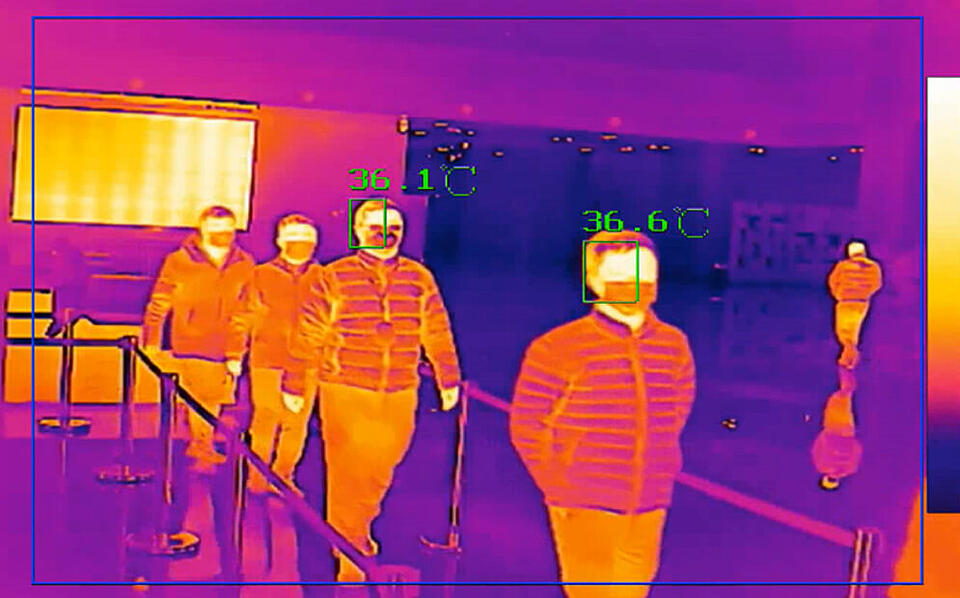 thermal body scanning