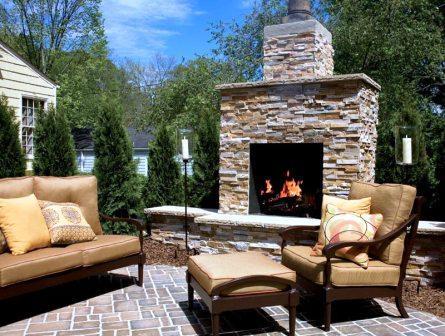 Firerock fireplaces for Firerock fireplace cost