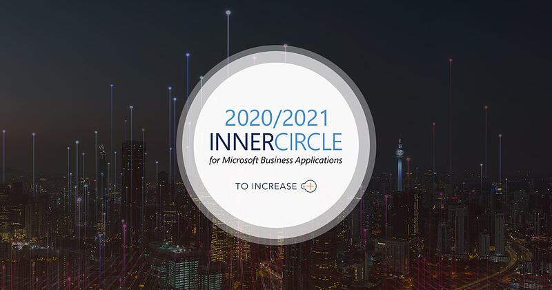 To-Increase Achieves the 2020/2021 Inner Circle