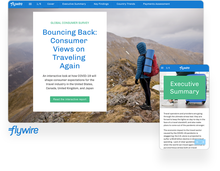 flywire global consumer travel study report