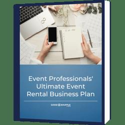 event rental business plan template
