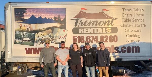 Tent company business tips from Tremont Rentals team