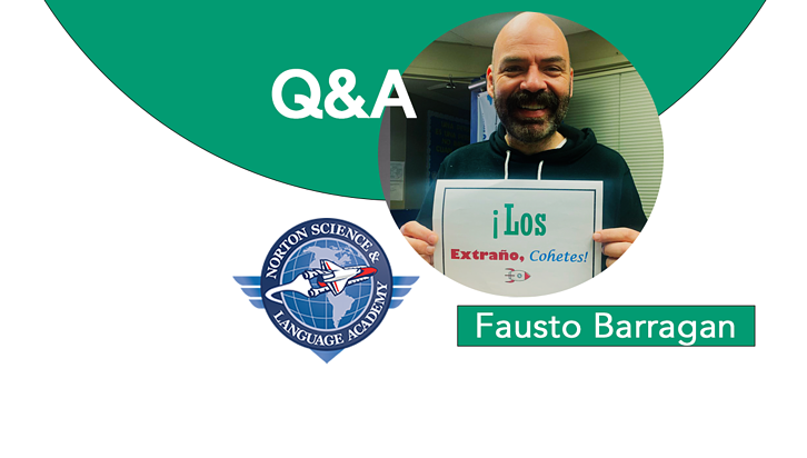 """Students are my core."" Interview with Education Equity Champion Fausto Barragan"