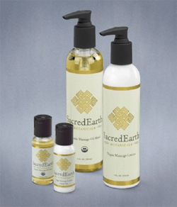 SacredEarth Botanicals Lotion and Oil