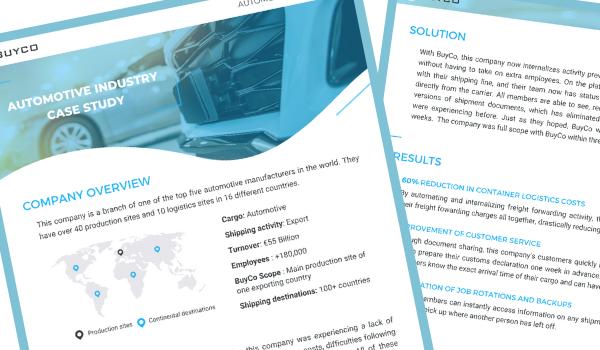 BuyCo automotive case study