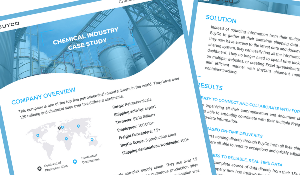 BuyCo Chemical case study