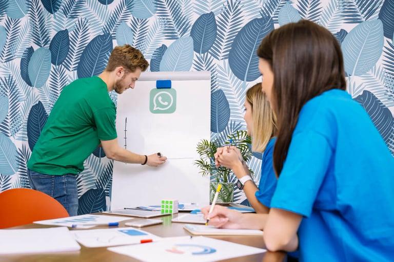 grupo aprendendo sobre vendas no whatsapp