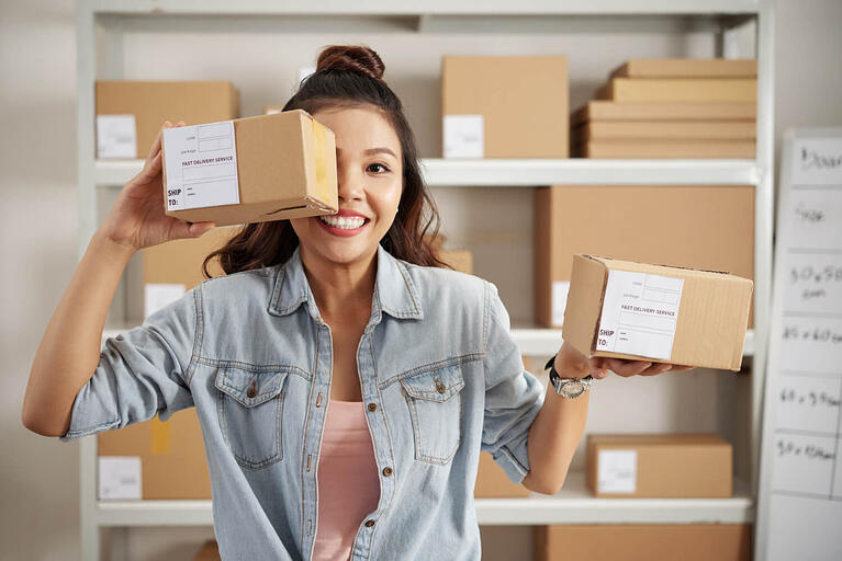 Empreendedora em estoque irá começar a vender online