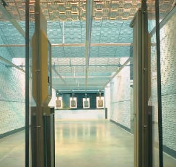 firing range noise, gun shot noise, noise barrier, sound barrier, soundproofing