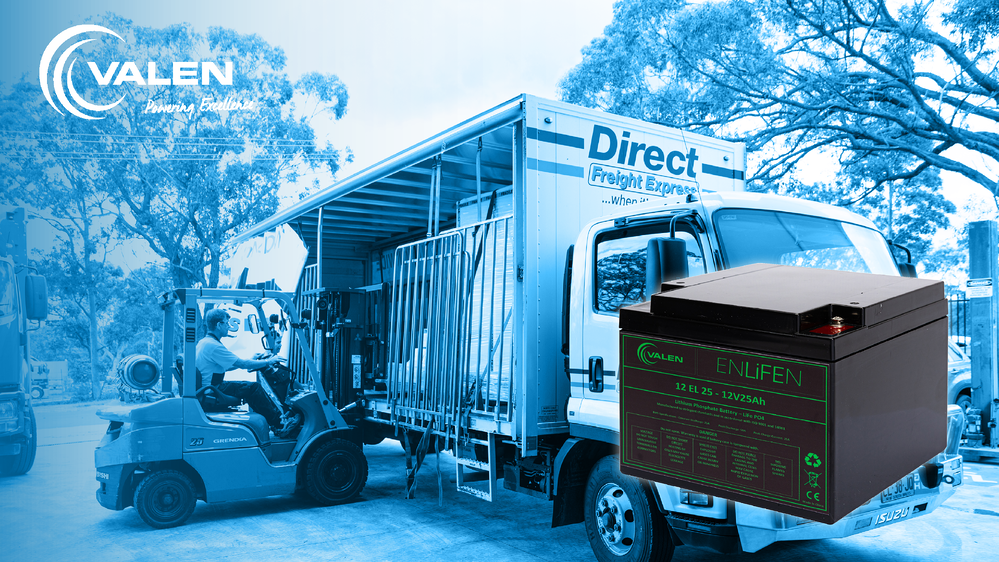 How to Safely Transport Valen Lithium Phosphate Batteries via Road Freight