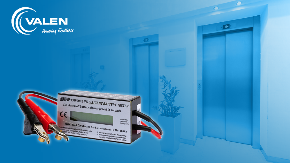 Which Battery Tester is correct for Testing Lift & Elevator Batteries?